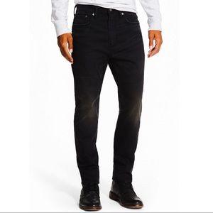 Levis Men 522 Slim Fit Taper Black - Size 34